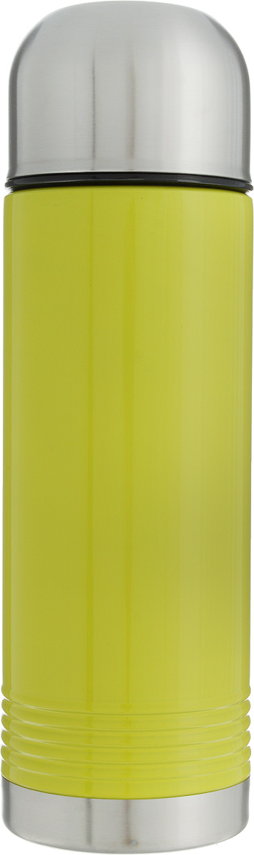 Термос Emsa Senator, цвет: лайм, серый, 700 мл515208Термос Emsa Senator имеет прочный корпус из нержавеющей стали. Модель снабжена герметичной пластиковой пробкой, которая предотвращает выливание содержимого. Крышка с внутренним пластиковым покрытием удобно завинчивается и может послужить в качестве чашки для напитков. Термос сохраняет напиток горячим 12 часов, холодным - 24 часа. Диаметр горлышка: 4,5 см. Диаметр основания: 8 см. Высота термоса (с учетом крышки): 26,5 см.Размер крышки: 8 х 8 х 6 см.
