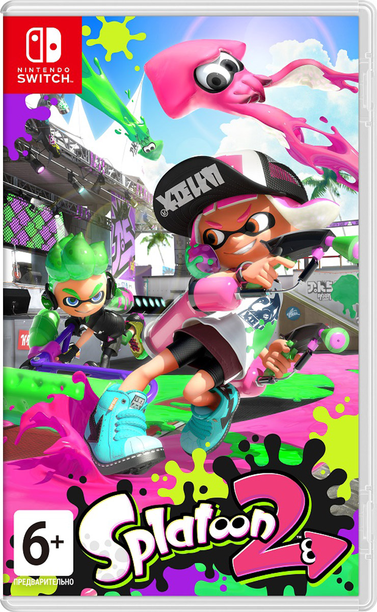 Zakazat.ru Splatoon 2 (Nintendo Switch)