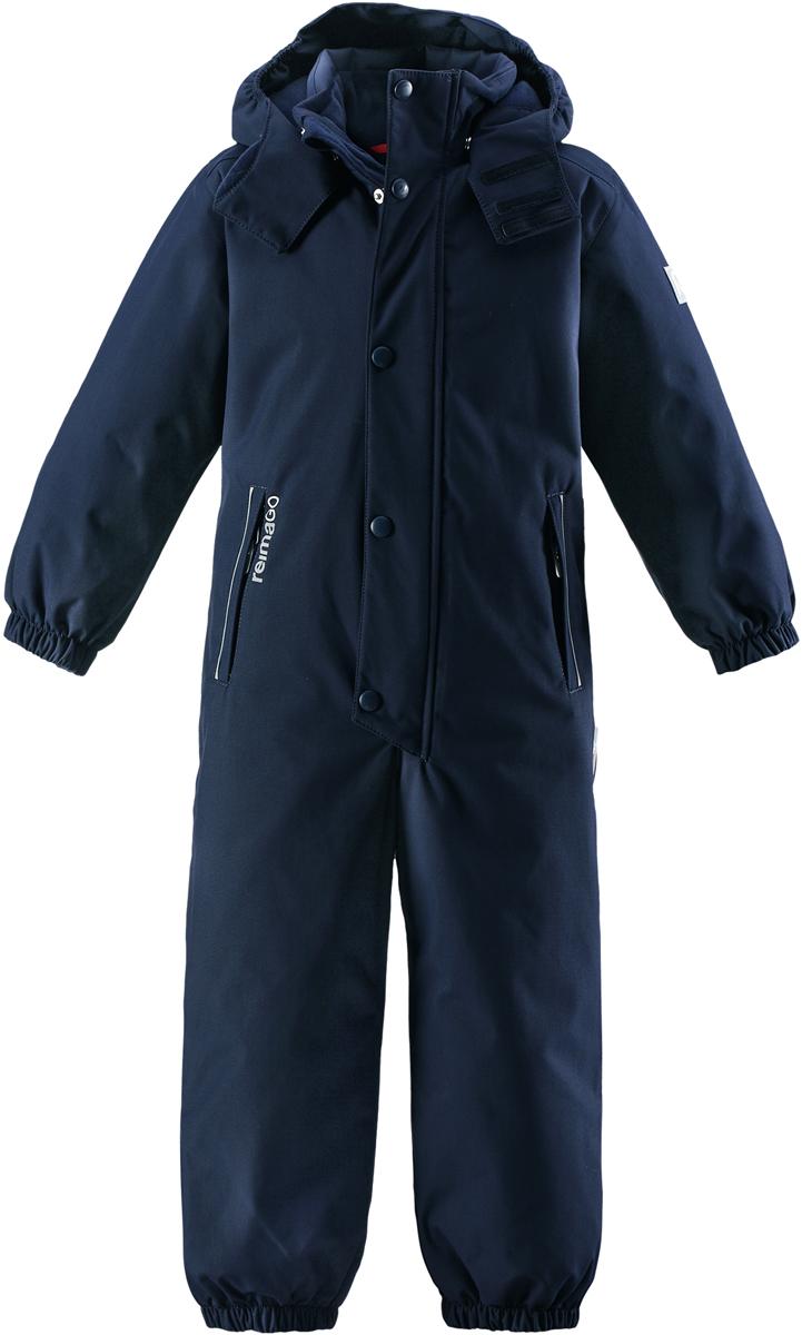 Комбинезон детский Reima Reimatec Kuusamo, цвет: темно-синий. 5202066980. Размер 128