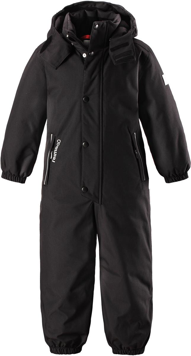 Комбинезон детский Reima Reimatec Kuusamo, цвет: черный. 5202069990. Размер 128