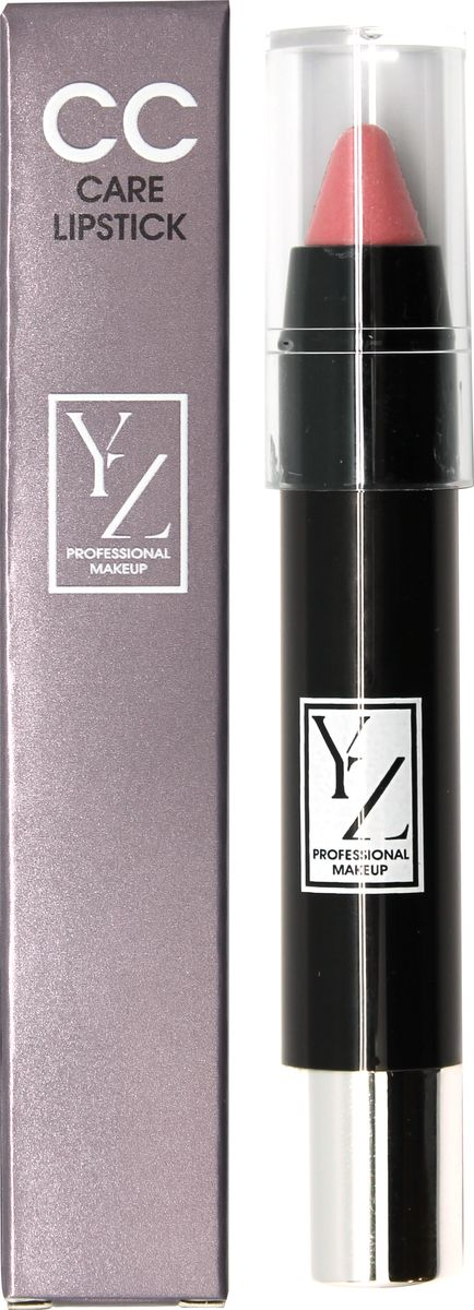 Yllozure помада-карандаш СС-уход, тон 411641YНовая концепция СС (Контроль Цвета) и защита губ от неблагоприятного воздействия окружающей среды реализована в лимитированной коллекции удобных карандашей для губ YZ СС-care. Формула помады основана на современных высокоочищенных восках и инертных полимерах, которые создают на губах эластичное защитное покрытие, предотвращающее обветривание, шелушение и раздражение. Она смягчает, разглаживает кожу губ и при этом тонирует и придает легкий влажный блеск. Помада не содержит отдушек и синтетических красителей, способных вызывать раздражения. В ее составе используются гипоаллергенные минеральные пигменты, которые придают губам натуральные полупрозрачные оттенки, не сушат губы и не «въедаются» в кожу.Какая губная помада лучше. Статья OZON Гид
