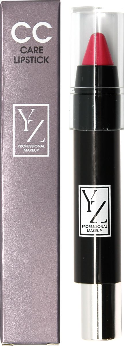 Yllozure помада-карандаш СС-уход, тон 441644Новая концепция СС (Контроль Цвета) и защита губ от неблагоприятного воздействия окружающей среды реализована в лимитированной коллекции удобных карандашей для губ YZ СС-care. Формула помады основана на современных высокоочищенных восках и инертных полимерах, которые создают на губах эластичное защитное покрытие, предотвращающее обветривание, шелушение и раздражение. Она смягчает, разглаживает кожу губ и при этом тонирует и придает легкий влажный блеск. Помада не содержит отдушек и синтетических красителей, способных вызывать раздражения. В ее составе используются гипоаллергенные минеральные пигменты, которые придают губам натуральные полупрозрачные оттенки, не сушат губы и не «въедаются» в кожу.Какая губная помада лучше. Статья OZON Гид