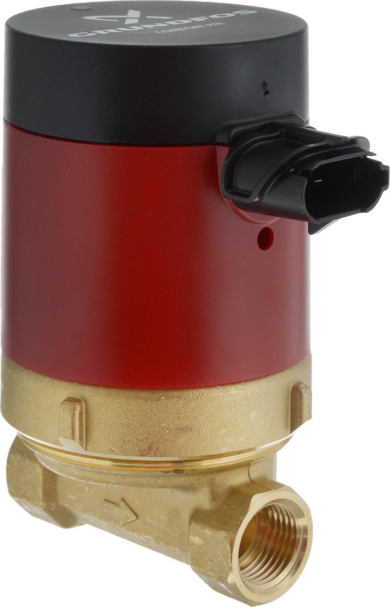 Насос поверхностный Grundfos 97916771, циркуляционный97916771Насос Grundfos 97916771 со сферическим ротором, предназначенный для циркуляции горячей воды для бытовых нужд в системе горячего водоснабжения. Насос изготовлен для установки в системах с обратным трубопроводом. В таких системах насос постоянно подает горячую воду по всему зданию. Он приводится в действие малошумным высокоэффективным однофазным 12-полюсным электродвигателем с постоянным магнитом в соответствии с директивой по электромагнитной совместимости. Энергопотребление насоса снижено до 5-8 Вт. Корпус насоса изготовлен из латуни, которая имеет высокую коррозионную стойкость и разрешена для применения в контакте с питьевой водой. Для быстрого и простого монтажа насос имеет удобный в использовании разъем COMFORT PM. Насос поставляется с изоляционными кожухами для минимизации тепловых потерь в окружающую среду. Диапазон температур жидкости: 2 .. 95 °C.Темпер. жидкости: 60 °C.Плотность: 983.2 кг/м12.Максимальное рабочее давление: 10 бар.Соединение труб: 1/2.Монтажная длина: 80 мм.