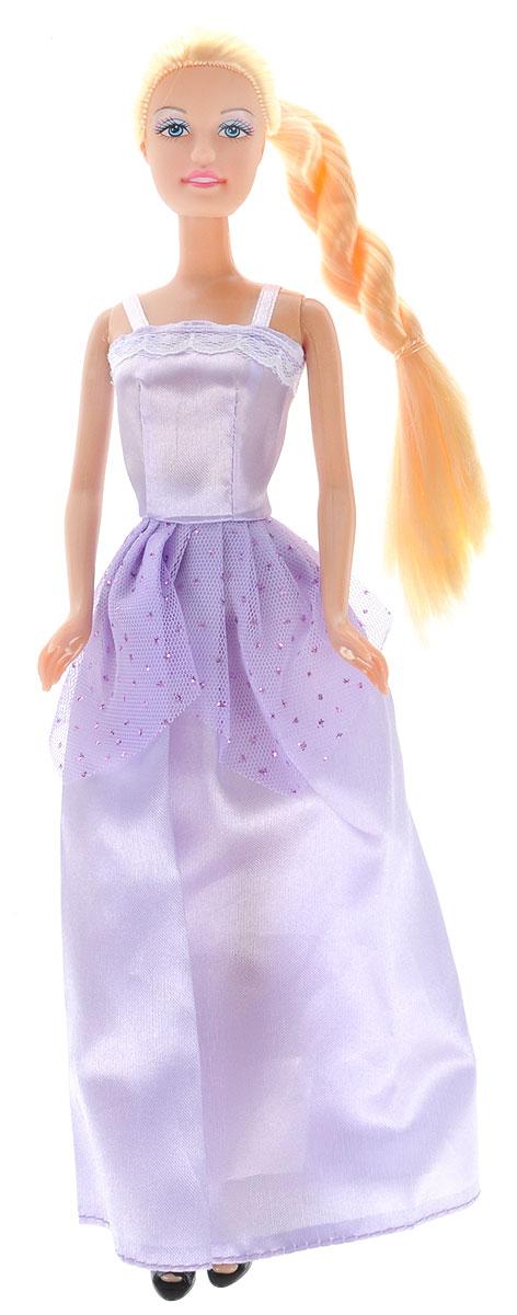 Defa Toys Кукла Lucy цвет платья цвет сиреневый кукла defa lucy с коляской и собачкой 8205
