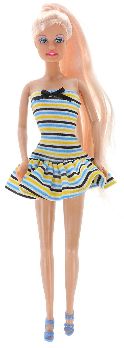 Defa Toys Кукла Lucy Fashion Style в летнем платье кукла defa lucy 6023