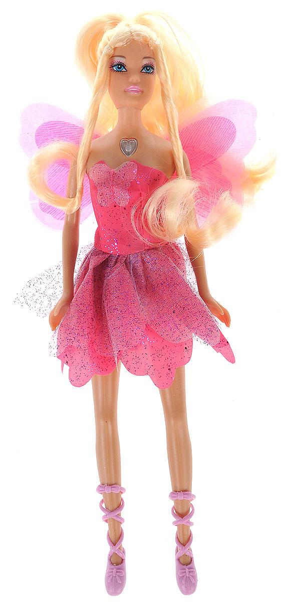 Defa Toys Кукла Lucy Фея со световыми эффектами цвет платья розовый vassa co платья