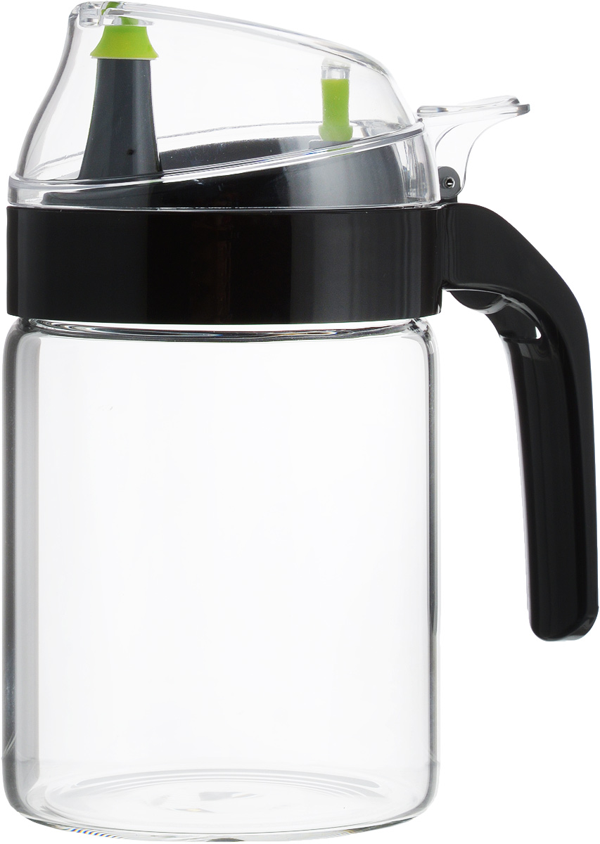 Емкость для масла SinoGlass, 450 мл89282002Емкость для масла SinoGlass, выполненная из ударопрочного стекла, украсит любую кухню. Изделие оснащено пластиковой крышкой с носиком. Стенки емкости прозрачные, поэтому вы с легкостью можете видеть содержимое.Оригинальная емкость будет отлично смотреться на вашей кухне и станет отличным подарком.Высота емкости (с учетом крышки): 16 см.