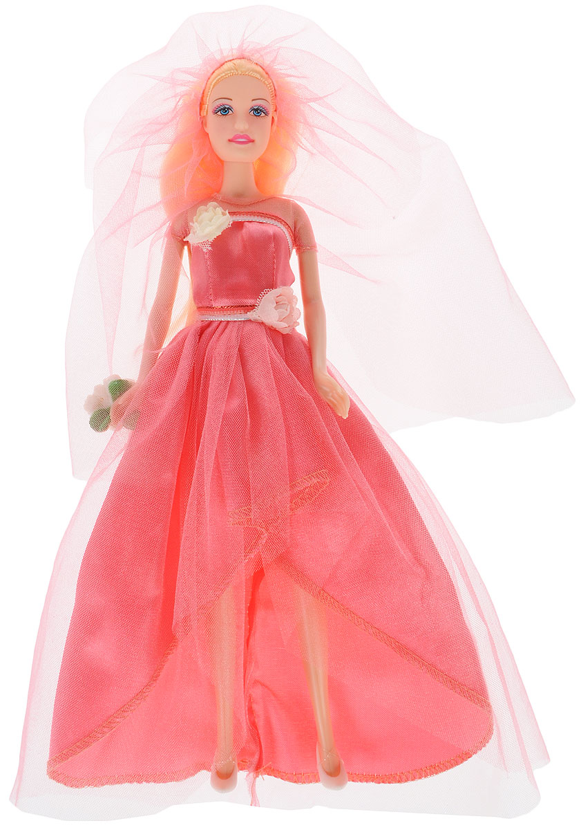 Defa Toys Кукла Lucy Happy Wedding цвет платья розовый кукла defa lucy 8077
