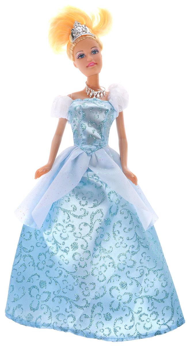 Defa Кукла Lucy Princess цвет платья голубой кукла defa lucy с коляской и собачкой 8205