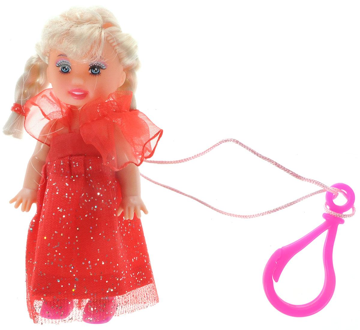 Defa Toys Мини-кукла Beily цвет платья красный кукла defa lucy невеста 8341