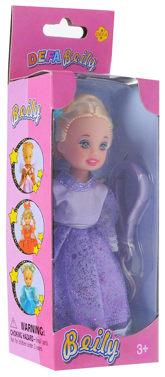 Defa ToysМини-кукла Beily цвет платья сиреневый Defa Toys