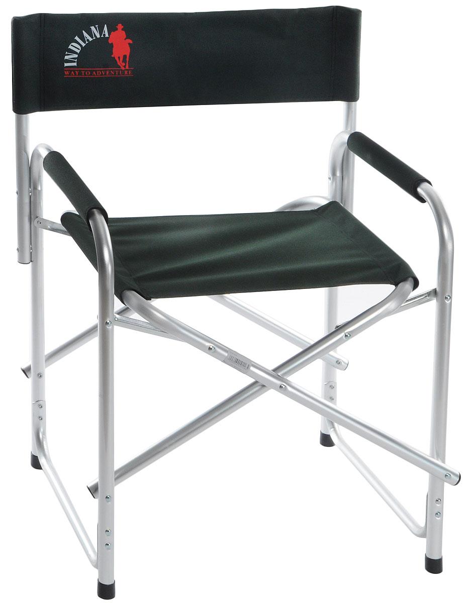 Кресло Indiana INDI-025, 44 см х 62 см х 80 см361100004Складное кресло Indiana INDI-025 предназначено для создания комфортных условий в туристических походах, охоте, рыбалке и кемпинге. Каркас выполнен из алюминиевой трубы. Имеет мягкие профилированные подлокотники с защитным чехлом. Тканевые элементы кресла выполнены из стойкого к ультрафиолетовому излучению материала. Конструкция ножек с поперечной трубой придает дополнительную устойчивость креслу, препятствует его проваливанию в песок или рыхлую землю. Кресло Indiana INDI-025 легко складывается и раскладывается. В сложенном состоянии не занимает много места.
