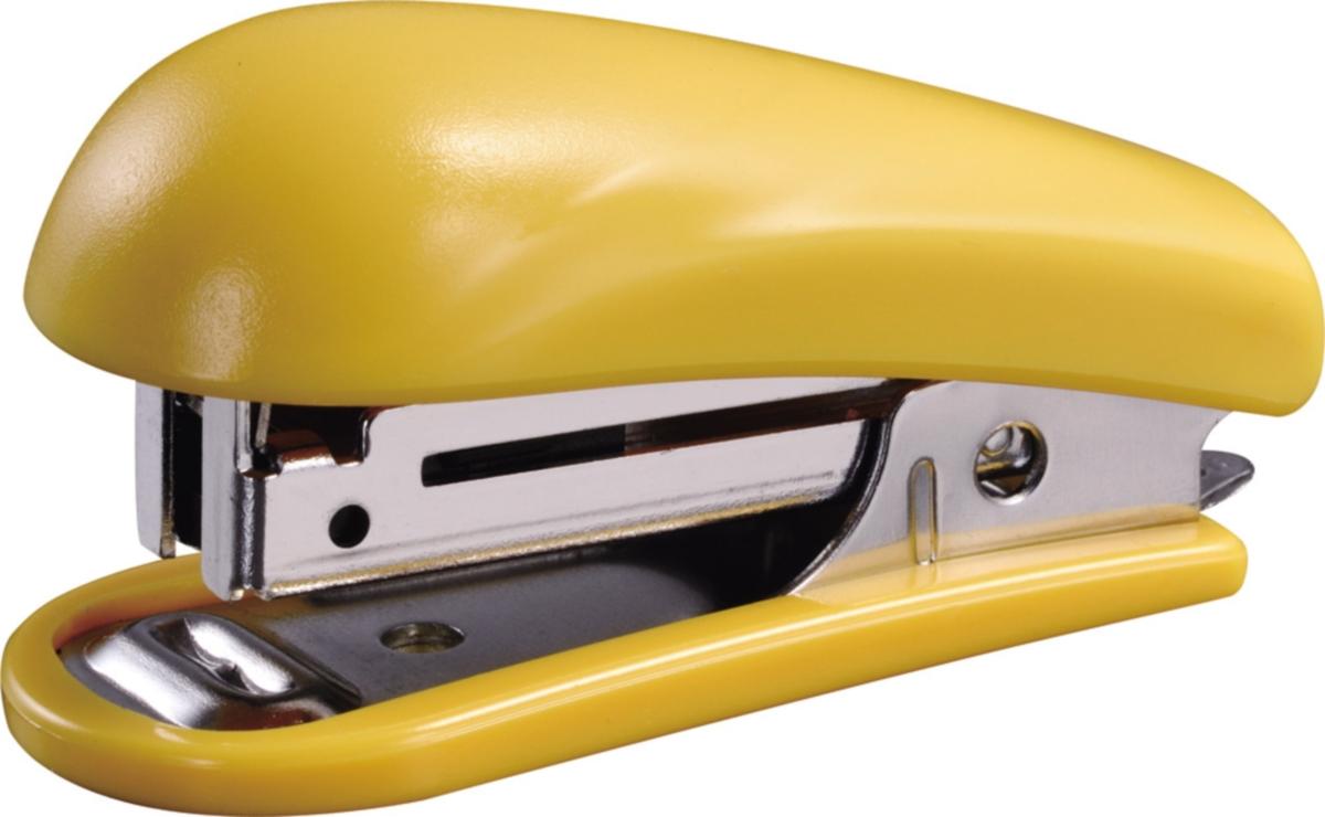 KW-trio Степлер Mini цвет желтый 10 листов