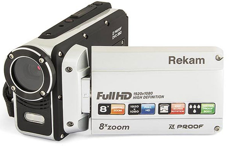 Rekam Xproof DVC-380 цифровая видеокамера экшн камера rekam xproof ex640 black