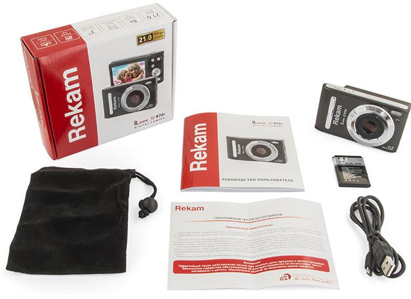 Rekam iLook S970i, Black Metallicцифровая фотокамера
