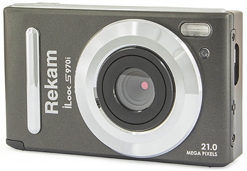 Rekam iLook S970i, Black Metallic цифровая фотокамера цифровая фотокамера rekam ilook s760i черный 1108005125