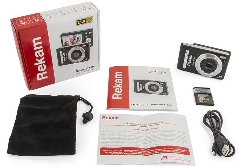 Rekam iLook S970i, Blackцифровая фотокамера Rekam