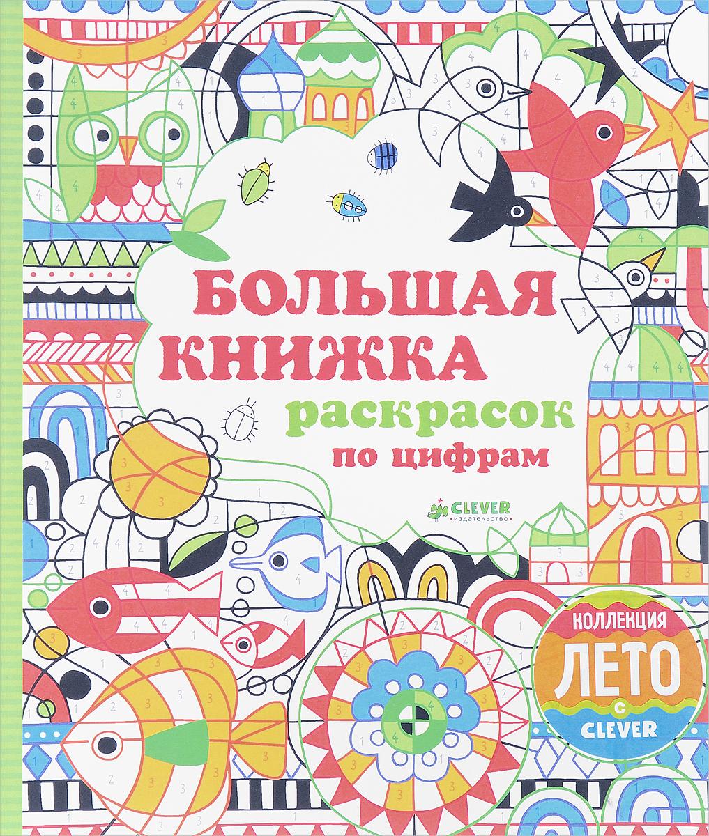 Большая книжка раскрасок по цифрам