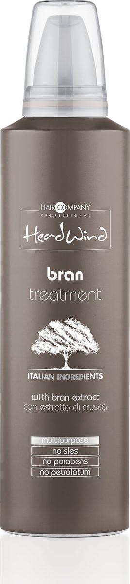 Hair Company Professional Head Wind Brain Treatment Мусс на основе рисовых отрубей, 250 мл256289/LB12531 RUSСогласитесь, часто, когда мы слышим о мультифункциональных средствах, возникают сомнения в их эффективности? Ведь разве можно выполняя множество задач, достичь успеха сразу во всех? Универсальный мусс Head Wind Gold Bran Treatment от итальянского бренда Hair Company докажет, что это вполне выполнимо. Им можно укладывать прическу, придавая ей дополнительный объем и текстуру, можно наносить на корни для укрепления волос и по длине прядей — для их питания и увлажнения.В основе средства лежит экстракт рисовых отрубей — источника витаминов и микроэлементов, укрепляющих волосяные луковицы и способствующих их активному росту. Он регулирует выделение кожного жира и насыщает клетки кислородом. К тому же, если нанести продукт по длине, он обеспечит невероятный блеск и шелковистость, сгладит неровности и предотвратить ломкость. Добавив Hair Company Head Wind Gold Bran Treatment в краску, можно минимизировать ущерб от химического воздействия и сделать процедуру тонирования максимально щадящей и безопасной. Способ применения: Нанести на волосы, перейти к выбранной процедуре, смыть или нанести на волосы после мытья шампунем, оставить на 3-5 минут, смыть.Объем: 250 мл