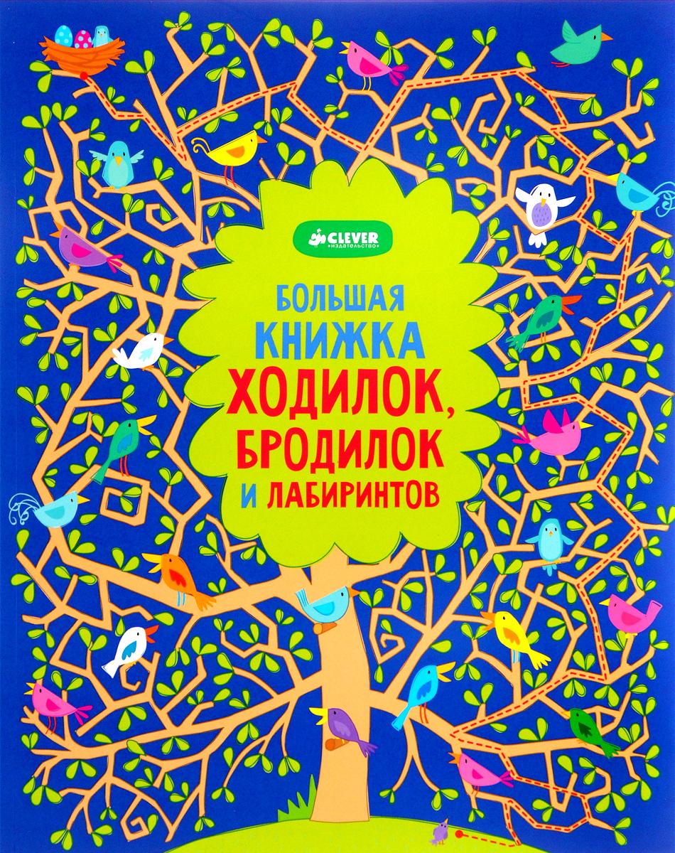 Большая книжка ходилок, бродилок и лабиринтов, Робсон К.