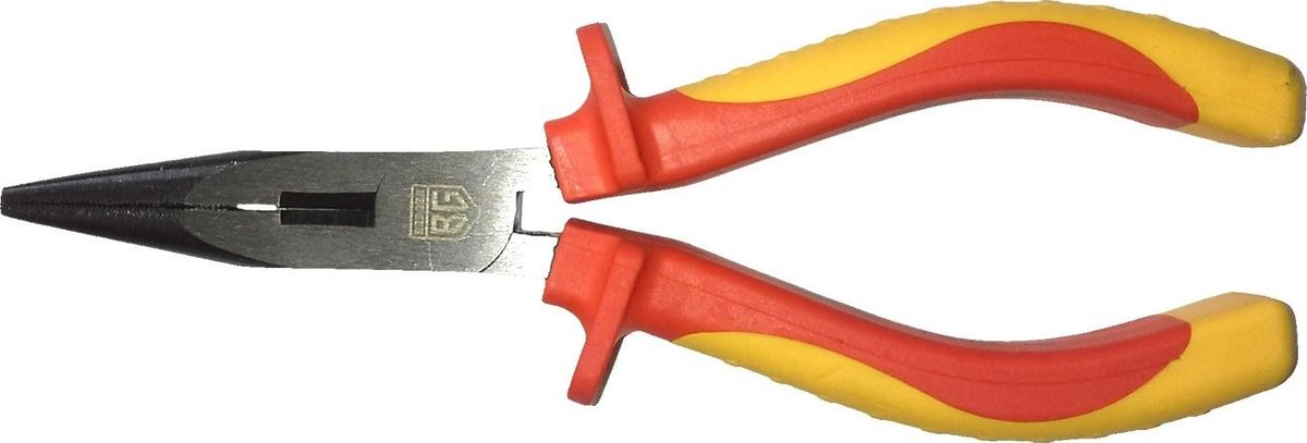 Длинногубцы Berger, диэлектрические, до 1000В, 150 ммBG1171Диэлектрические длинногубцы Berger - это шарнирно-губцевый инструмент, которыйподойдет для работы с проволокой и проводами. Губки изготовлены из хромованадиевой стали. Многокомпонентный материал рукояток исключает проскальзываниев руке инструмента во время работы. Длинногубцы позволяют работать с проводами под напряжением до 1000В. Длина: 15 см. Твердость элементов шарнира: 40-48 HRC.Твердость режущих кромок губок: 55-62 HRC.
