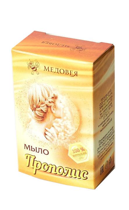 Медовея Мыло с прополисом, 80 мл4627106490182Абсолютно натуральное прополисное мыло изготовлено по уникальному рецепту, разработанному квалифицированными специалистами. При регулярном применение натуральное мыло с прополисом гарант оздоровления кожи и сохранения молодости.