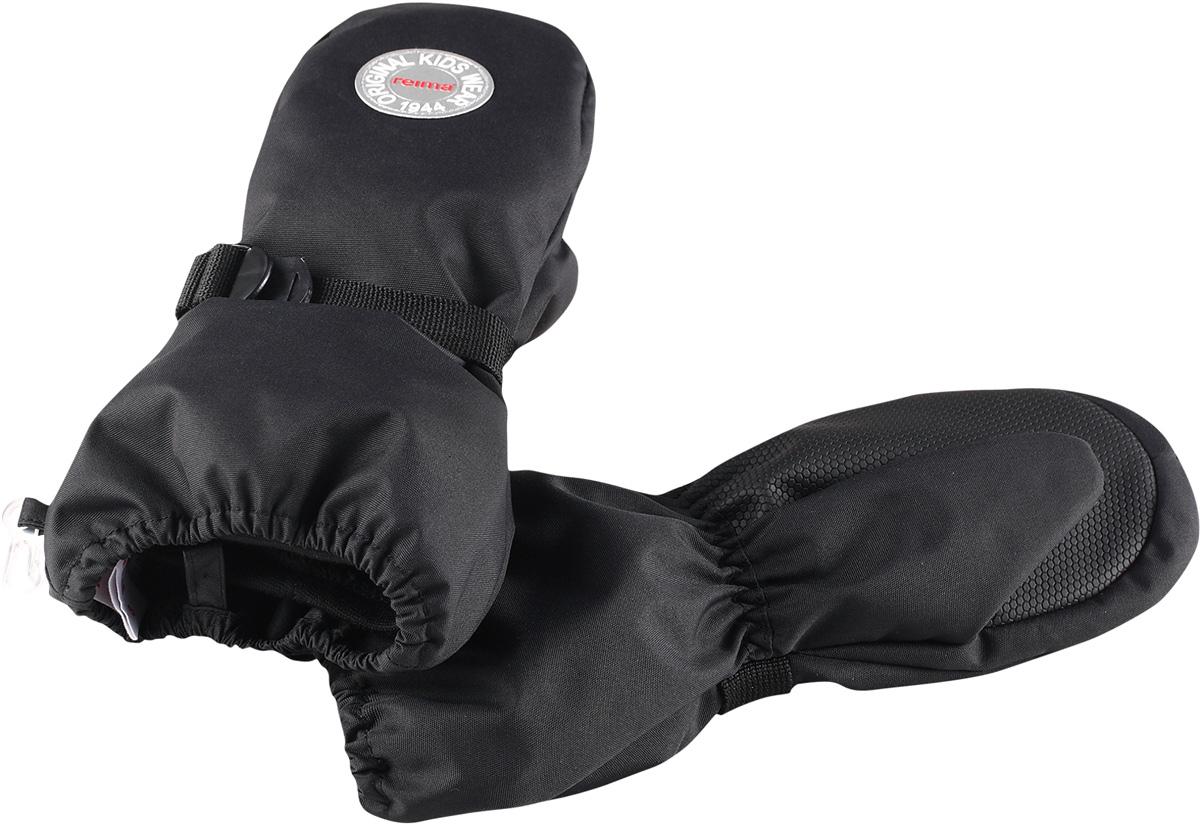Варежки детские Reima Olhava, цвет: черный. 5272819990. Размер 35272819990