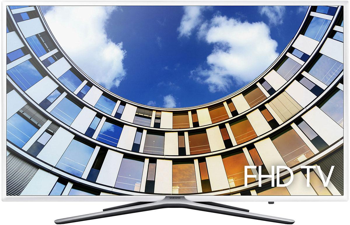 Samsung UE55M5510AUX телевизорUE-55M5510AUXЭкран телевизора Samsung UE55M5510AUX обрамлен красивой рамкой, которая подчеркивает его изящество. Телевизор можно или установить на Y-образную подставку, или повесить на стене с помощью креплений VESA 400х400.Экран - это, безусловно, сильная сторона любого телевизора производства Samsung, и эта модель не исключение. Потрясающая детализация изображения при Full HD разрешении далеко не все, чем он может похвастаться. Одно из многих достоинств модели - технология обработки цвета Wide Color Enhancer. Благодаря ее возможностям, телевизор может похвастаться очень точной цветопередачей и богатой цветовой палитрой. Даже изображение, по качеству более низкое, чем HD, выглядит на экране потрясающе.Частота обновления экрана в 120 Гц делает изображение движущихся объектов плавным и четким. Теперь просмотр экшн-сцен дарит совершенно новые ощущения. Кроме этого, экран традиционно отличается высокой яркостью и хорошим контрастом. Отчасти это заслуга светодиодной подсветки. Она не только положительно сказывается на качестве картинки, но и экономно расходует электроэнергию.Обработка изображения проходит под руководством 4-х ядерного процессора. Он отвечает хорошее качество графики, а многозадачность телевизора и за быструю работу всех его систем. Именно он делает модель по настоящему умной.Все возможности Smart TV теперь к услугам владельца телевизора. О важности этой технологии говорит то, что невозможно представить хороший современный телевизор, вся функциональность которого сводится лишь к просмотру телепередач. Smart TV не только подстраивается индивидуально под требования и предпочтения пользователя, но и открывает доступ к сети Интернет, позволяя просматривать любимые передачи и фильмы онлайн, в любое время суток.Среди возможностей Smart TV создание собственной экосистемы, в которую входят все электронные устройства в доме. Это ведь очень удобно, когда есть возможность просматривать контент со своего смартфона на большом экране. Тел