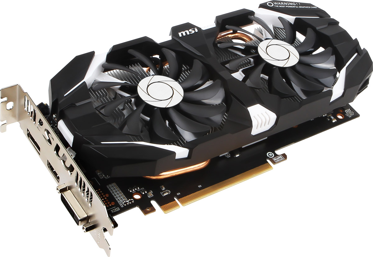 MSI GeForce GTX 1060 6GT OCV1 6GB видеокарта