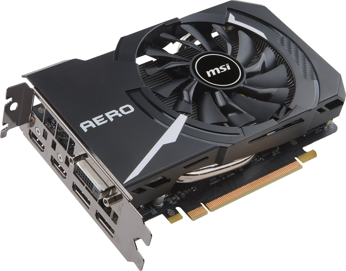 MSI GeForce GTX 1060 AERO ITX 6G OC 6GB видеокарта