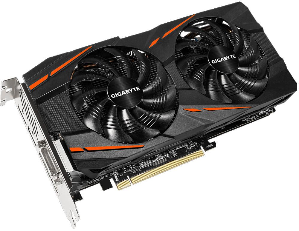 Gigabyte Radeon RX 570 Gaming 4GB видеокартаGV-RX570GAMING-4GDВидеокарта Gigabyte Radeon RX 570 Gaming создана, чтобы удовлетворить все требования опытных игроков. Основано на решении AMD Radeon, архитектура GPU Polaris.Система охлаждения WINDFORCE 2X оснащена двумя вентиляторами 90 мм с уникальным дизайном лопастей, тремя медными композитными теплотрубками, технологией прямого контакта. Все это позволяет получить эффективный уровень теплорассеивания для высокопроизводительной системы с низкой температурой.Используется полу-пассивный режим работы, вентиляторы останавливают свою работу,если температура чипа не высокая, или нет достаточной нагрузки.На торце видеокарты расположен индикатор работы вентилятора.Композитные медные трубки сочетают в себе два важных аспекта теплопереноса и способности забирать тепло из зоны прямого контакта. Таким образом повышается эффективность охлаждения на 29%. Медные трубки имеют прямую зону соприкосновения с графическим процессором.Настраиваемая RGB подсветка логотипа и индикатора работы вентилятора. Доступно 16.8 млн цветовых оттенков и различные схемы работы подсветки, вы можете установить необходимый режим с помощью программного обеспечения XTREME ENGINE.Металлическая задняя пластина усиливает конструкцию видеокарты, защищает элементную базу от внешнего механического воздействия и повреждений.LED индикаторы проинформируют вас о том, что питание PCI-E не стабильно.При производстве карты используются дроссели и конденсаторы высокого качества, благодаря этому факту графическая карта обеспечивает выдающуюся производительность и долговечность системы.Настраивайте частоты, напряжение, режим работы вентиляторов, режим работы RGB подсветки, параметры производительности с помощью ПО Xtreme Engine. Все эти настройки могут быть изменены в режиме реального времени, согласно вашим предпочтениямКак собрать игровой компьютер. Статья OZON Гид