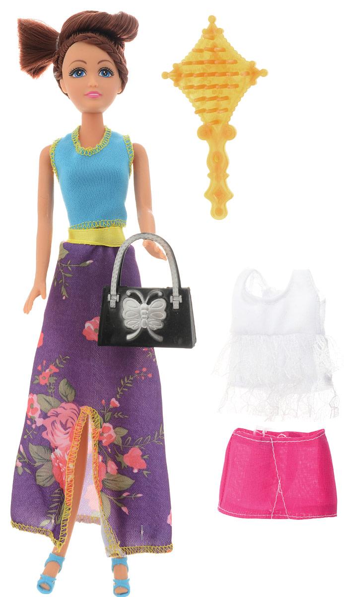 Funville Игровой набор с куклой Glimmer & Style 24273 funville кукла