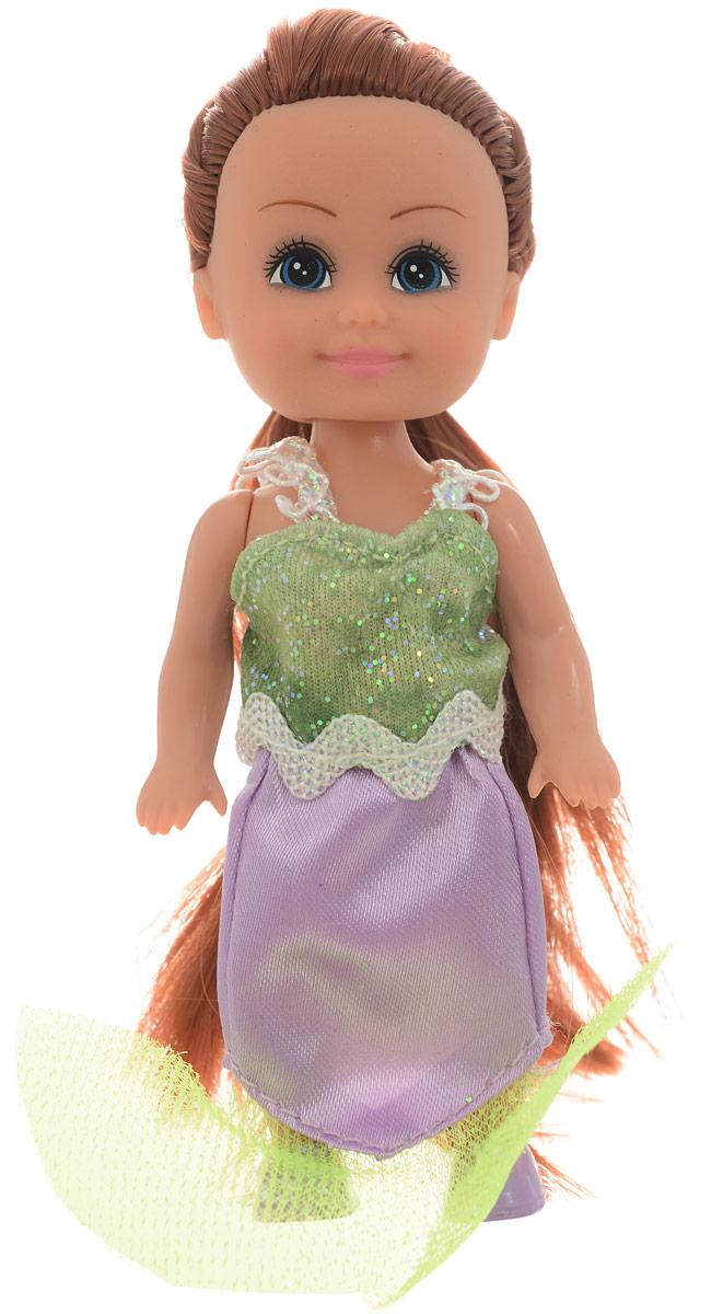 Funville Мини-кукла Волшебная русалочка цвет платья салатовый сиреневый funville кукла brilliance fair 26 7 см funville
