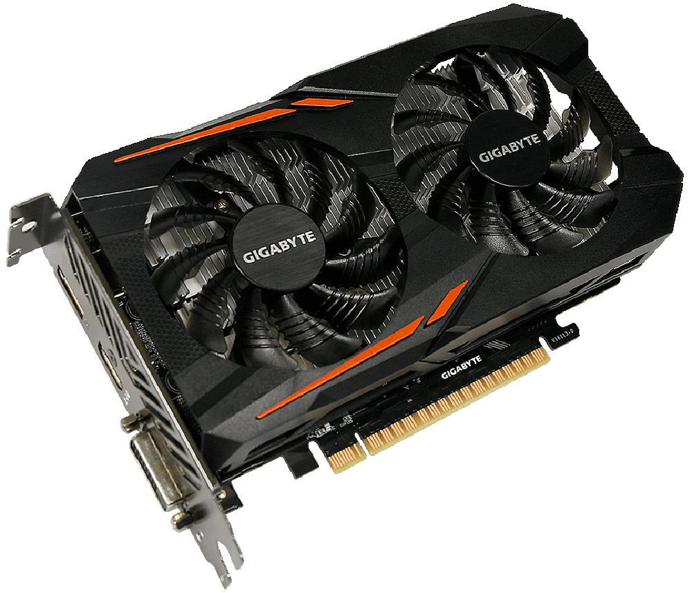 Gigabyte GeForce GTX 1050 Ti OC 4GB видеокарта