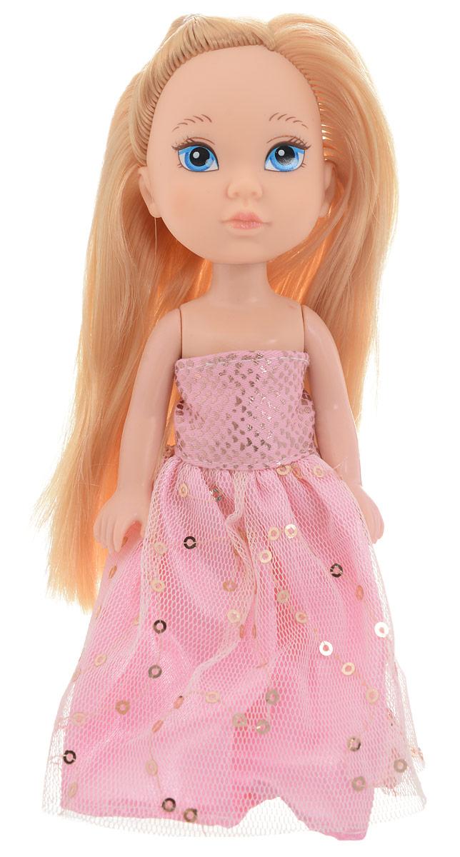 Junfa Toys Кукла Isabella цвет платья розовый