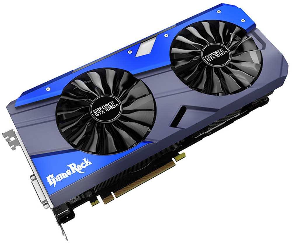 Palit GeForce GTX 1080 Ti GameRock Premium Edition 11G 11GB видеокарта