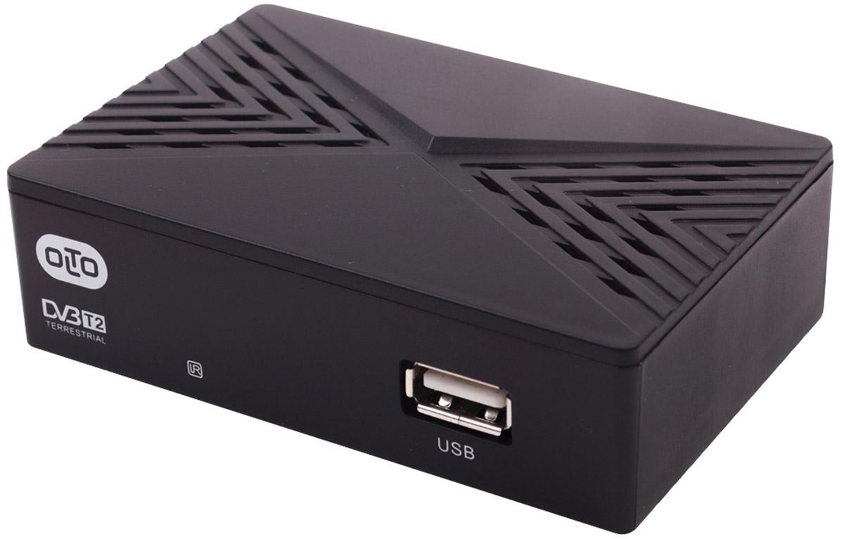 OLTO HDT2-1007 цифровой ТВ-ресивер00-00001399Цифровой телевизионный приемник с функцией FULL HD - медиаплеера.Комплектуется RCA кабелем.