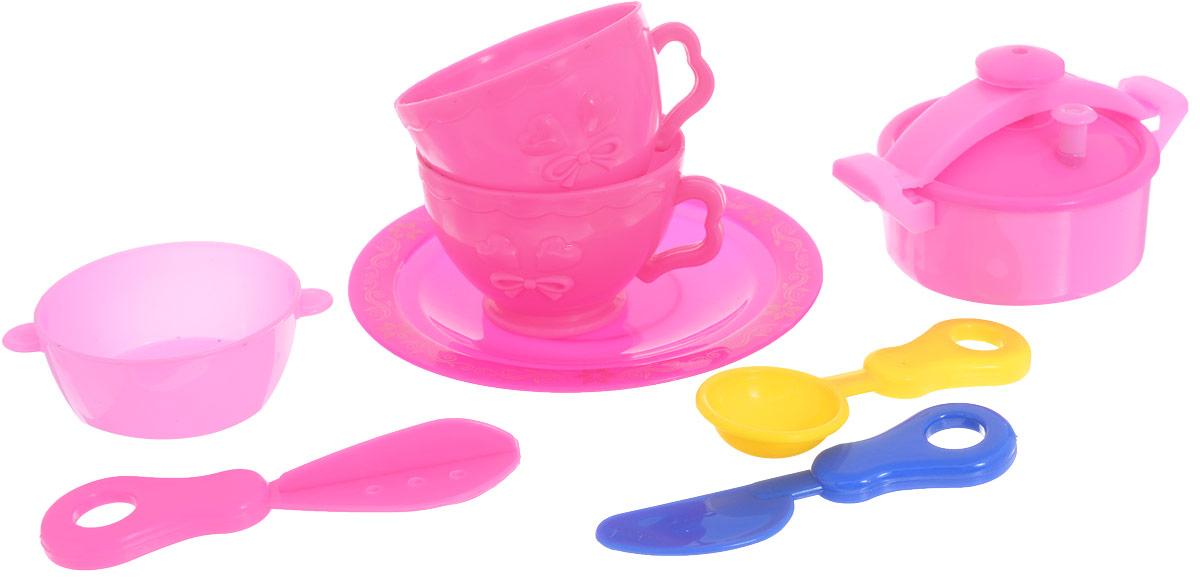 ABtoys Игровой набор Посуда для кухни 10 предметов для кухни