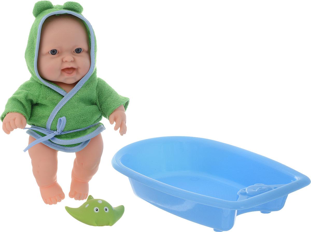 ABtoys Пупс Мой малыш в ванночке научно познавательный набор
