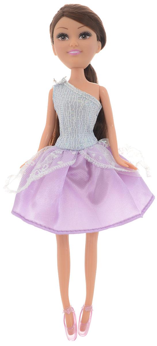 Funville Кукла Зимняя Принцесса цвет платья сиреневый funville кукла sparkle girlz модница цвет наряда красный синий