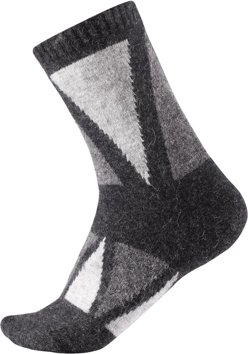 Носки детские Reima Savo, цвет: серый. 5272719730. Размер 345272719730Яркие длинные детские носки из шерстяного трикотажа от Reima - отличный выбор для любителей активных прогулок. Носки изготовлены из теплой и мягкой ангорской полушерсти и превосходно регулируют температуру, особенно в морозные зимние дни. Эластичный шерстяной трикотаж отлично пропускает воздух и быстро сохнет, поэтому ребенку будет максимально комфортно во время веселых прогулок. Облегченная модель без усилений на подошве.