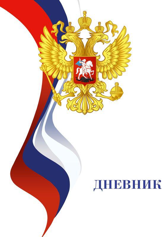 Бриз Дневник школьный Патриот России 40 листов