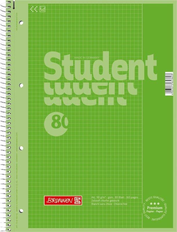 Stewo Тетрадь 80 листов в линейку67927-52\BCDТетрадь формата А4 Stewo отлично подойдет для занятий студенту. Яркая обложка, выполненная из плотного мелованного картона, позволит сохранить тетрадь в аккуратном состоянии на протяжении всего времени использования. Внутренний блок тетради, соединенный спиралью, состоит из 80 листов белой бумаги в линейку. Блок бумаги имеет перфорацию для подшивки.