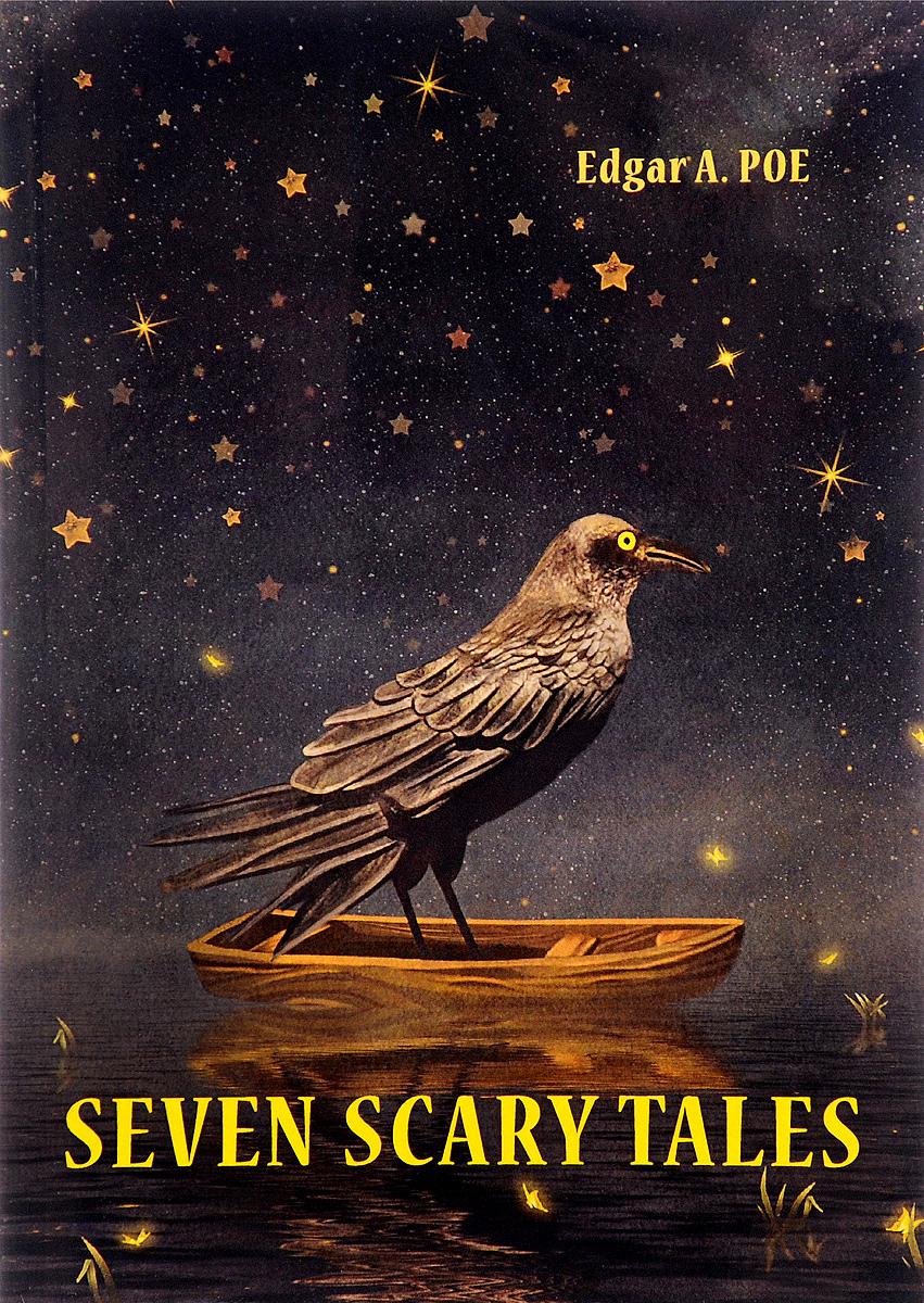 Poe Edgar Allan Seven Scary Tales edgar allan poe punase surma mask