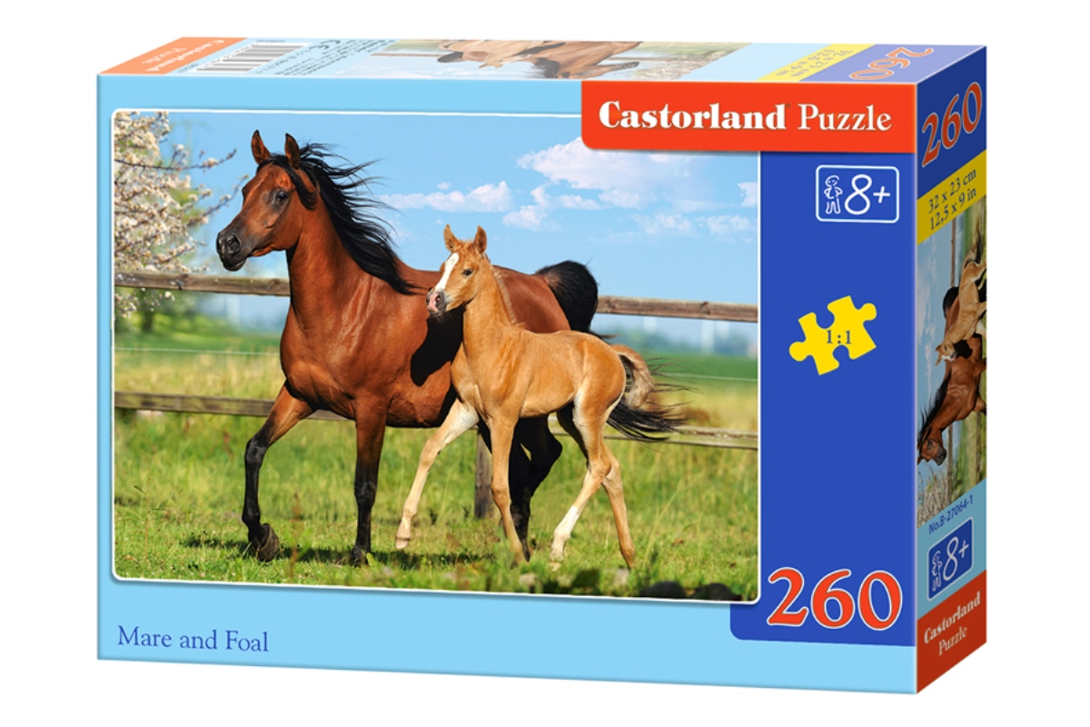 Castorland Пазл Лошади B-26784
