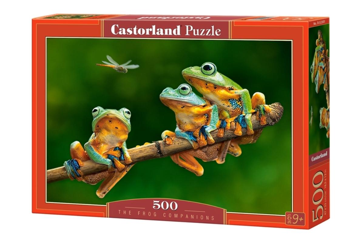 Castorland Пазл Лягушки