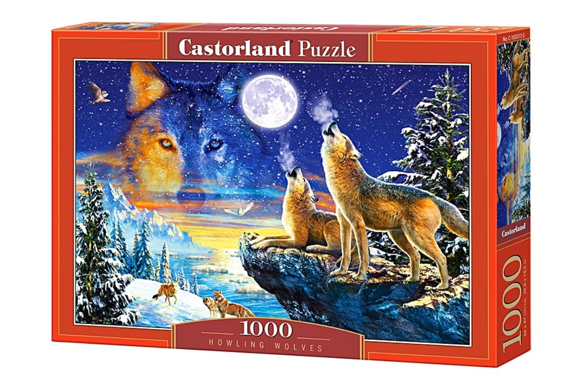 Castorland Пазл Волки C-103317