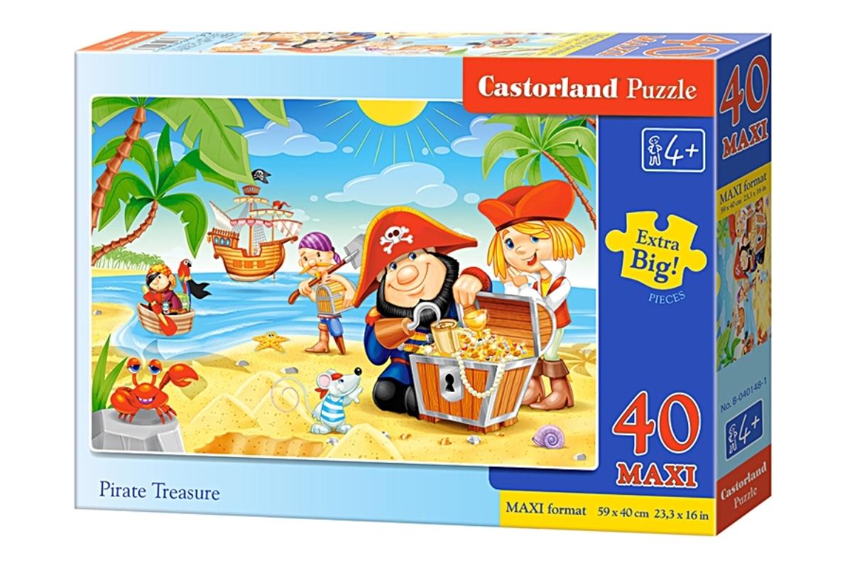 Castorland Пазл для малышей Пиратские сокровища castorland пазл для малышей в аэропорту