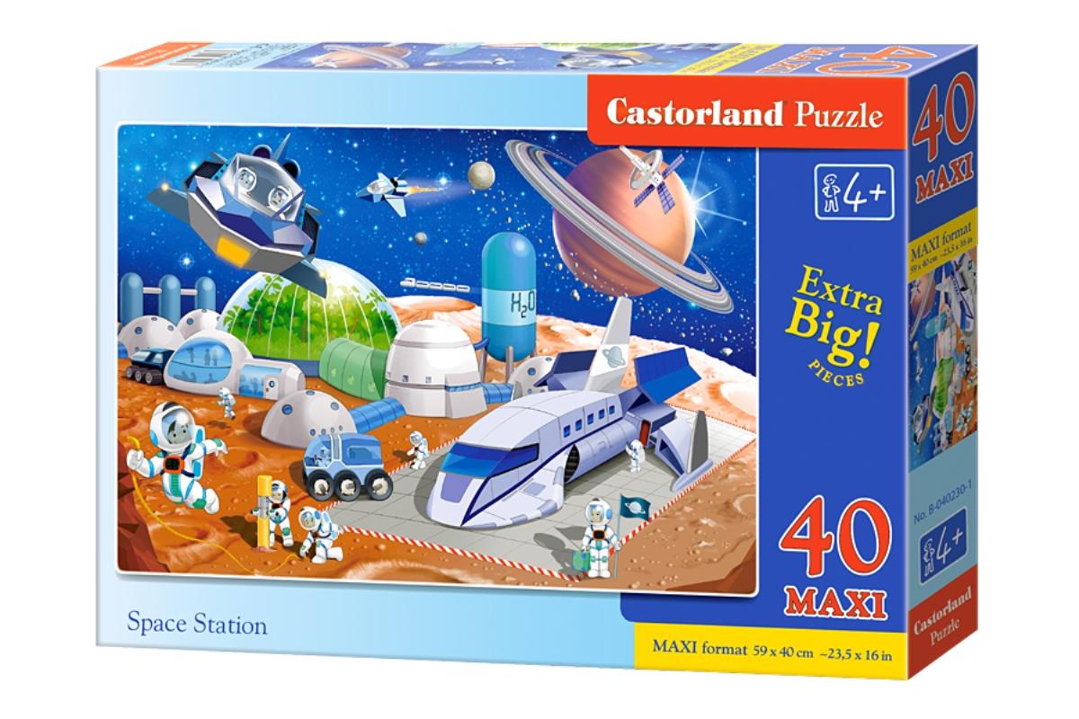 Castorland Пазл для малышей Космическая станция castorland пазл дюймовочка 4 в 1