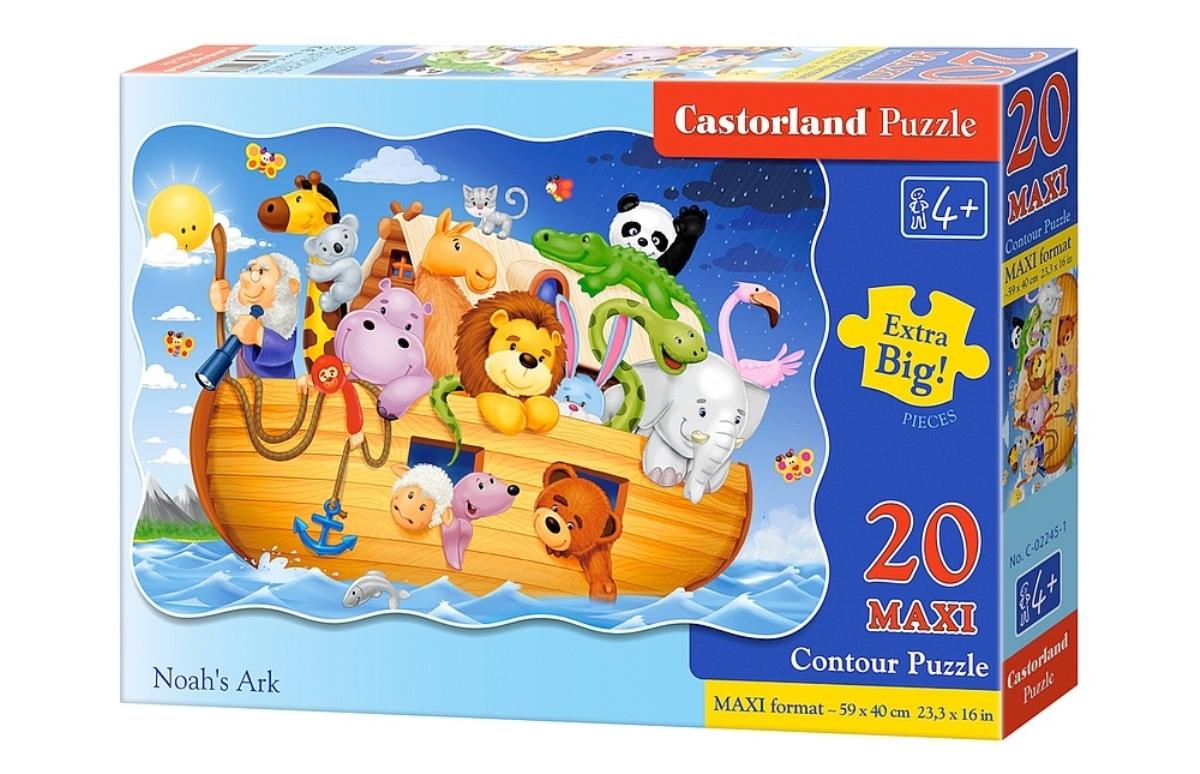 Castorland Пазл для малышей Ноев ковчег castorland пазл для малышей в аэропорту